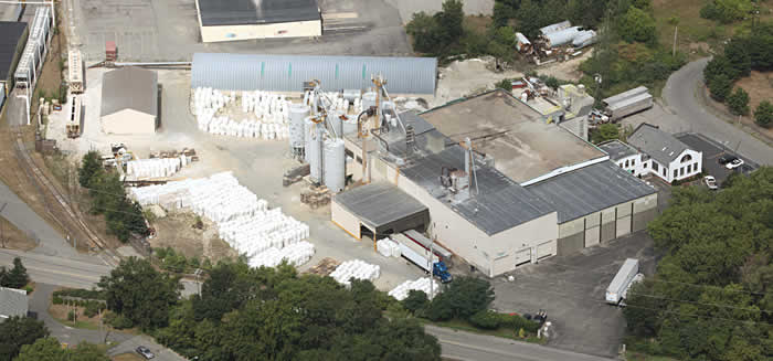 Airiel Shot of Perlite Plant